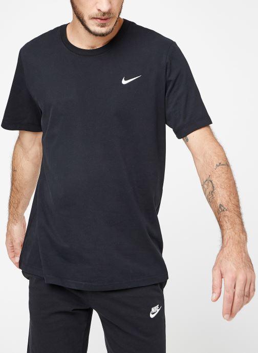 Vêtements Nike M Nike Dry Tee Dfc Crew Solid Noir vue droite