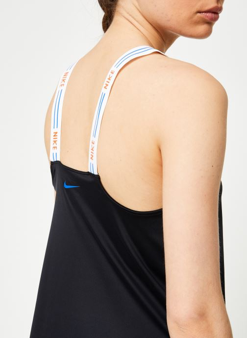 Kleding Nike W Nike Tr Hyp Fm Tank Elastika Zwart voorkant