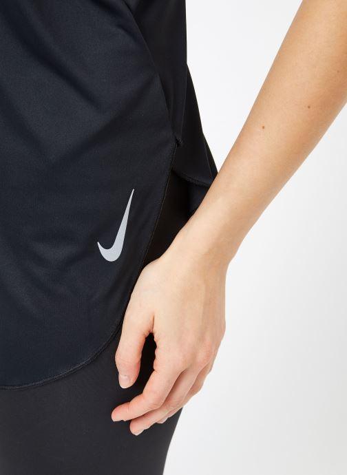 Kleding Nike W Nike City Sleek Tank Zwart voorkant