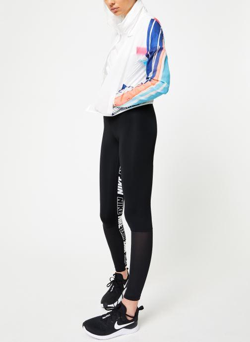 Ropa Nike W Nike Imp Lt Jacket Hd Eva Blanco vista de abajo