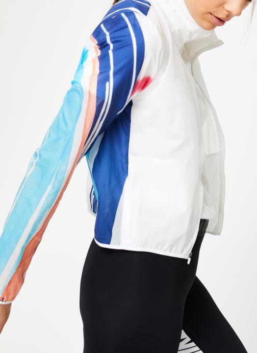 Ropa Nike W Nike Imp Lt Jacket Hd Eva Blanco vista de detalle / par