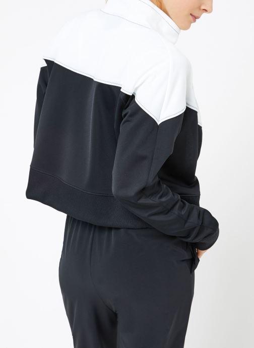 Vêtements Nike W Nike Sportwear Hrtg Track Jacket Pk Noir vue portées chaussures