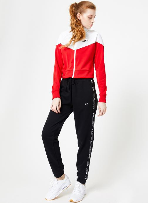 Vêtements Nike W Nike Sportwear Hrtg Track Jacket Pk Rouge vue bas / vue portée sac