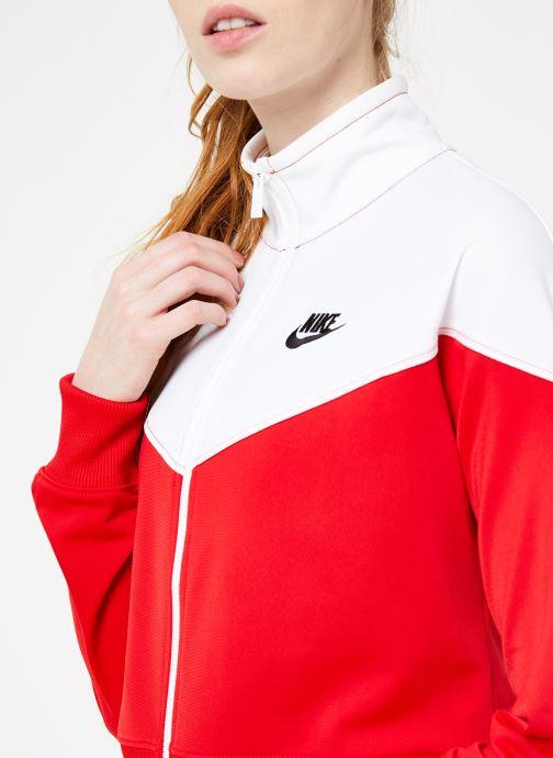 Vêtements Nike W Nike Sportwear Hrtg Track Jacket Pk Rouge vue face