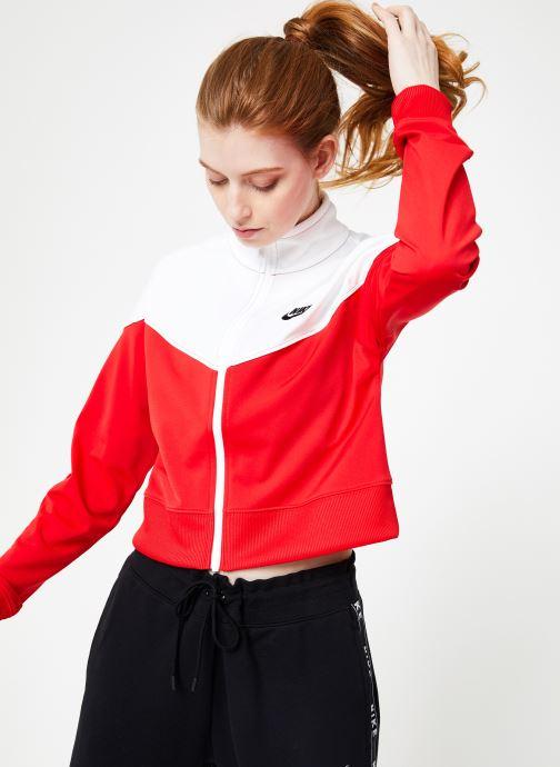 Vêtements Nike W Nike Sportwear Hrtg Track Jacket Pk Rouge vue détail/paire