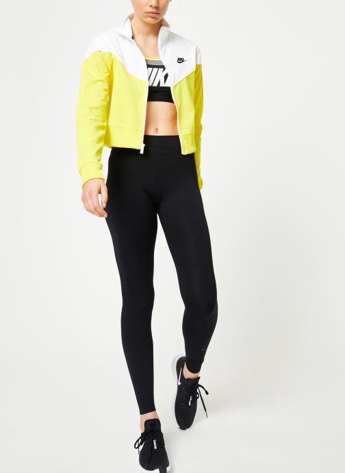 Vêtements Nike W Nike Sportwear Hrtg Track Jacket Pk Jaune vue bas / vue portée sac
