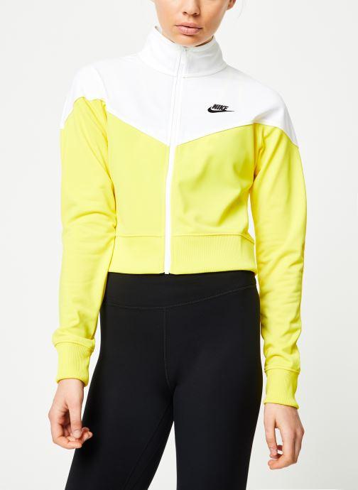 Vêtements Nike W Nike Sportwear Hrtg Track Jacket Pk Jaune vue droite