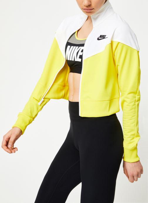 Vêtements Nike W Nike Sportwear Hrtg Track Jacket Pk Jaune vue détail/paire