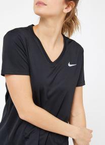 W Nike Miler Top Vneck