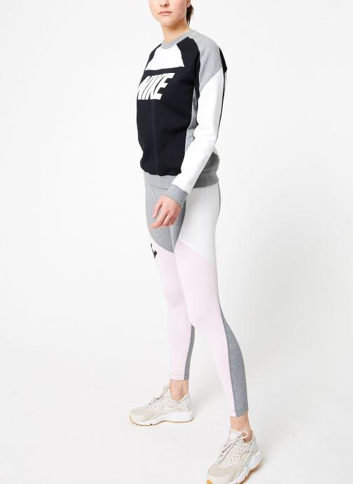Kleding Nike W Nike Sportswear Crew Flc Cb Zwart onder