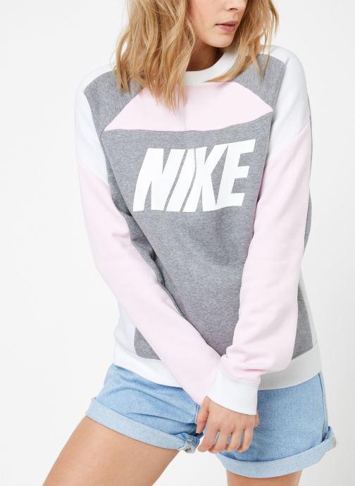 Vêtements Nike W Nike Sportwear Crew Flc Cb Gris vue droite