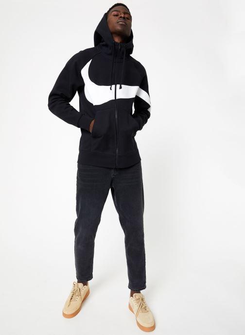 Vêtements Nike M Nike Sportwear Hbr Hoodie Full Zip  Stmt Noir vue bas / vue portée sac