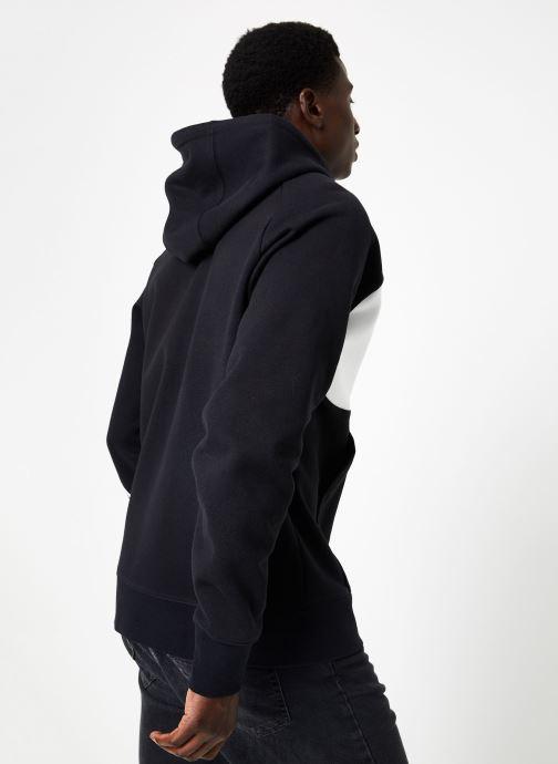 Vêtements Nike M Nike Sportwear Hbr Hoodie Full Zip  Stmt Noir vue portées chaussures