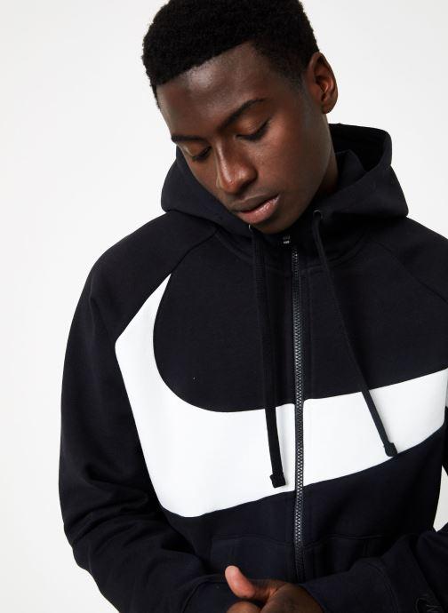 Vêtements Nike M Nike Sportwear Hbr Hoodie Full Zip  Stmt Noir vue face