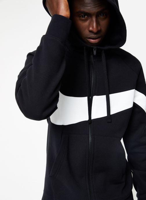 Vêtements Nike M Nike Sportwear Hbr Hoodie Full Zip  Stmt Noir vue détail/paire