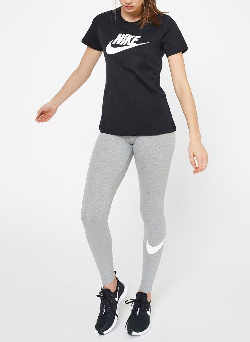 Kleding Nike W Nike Sportwear Tee Essential Icon Futura Zwart onder