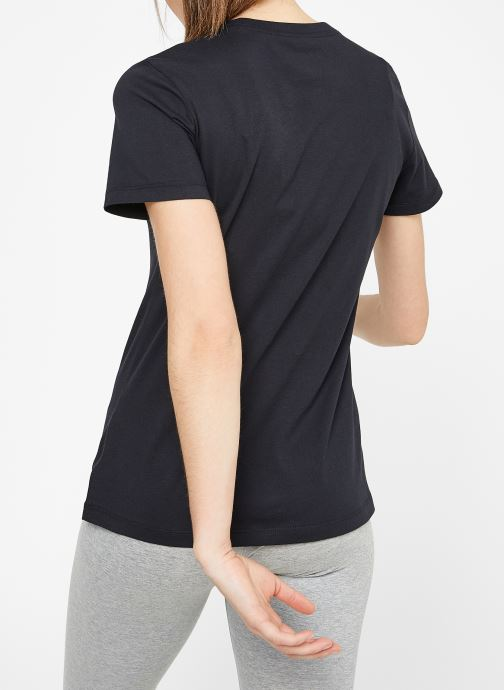Kleding Nike W Nike Sportwear Tee Essential Icon Futura Zwart model