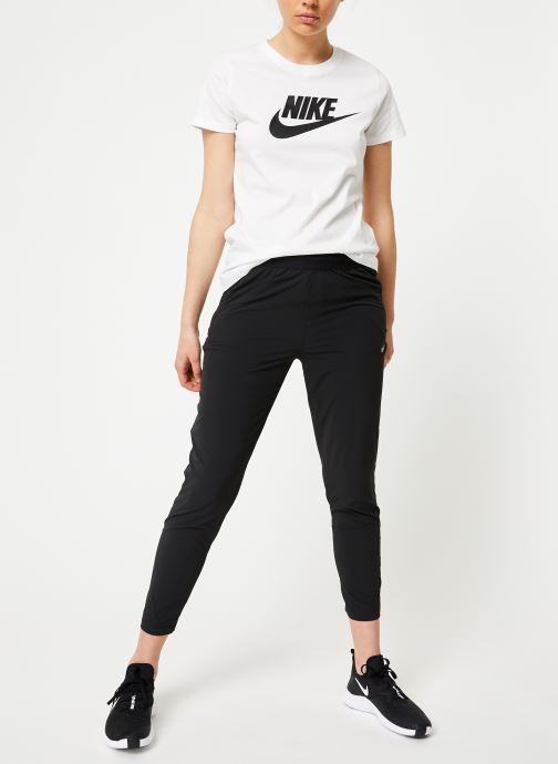 Kleding Nike W Nike Sportwear Tee Essential Icon Futura Wit onder
