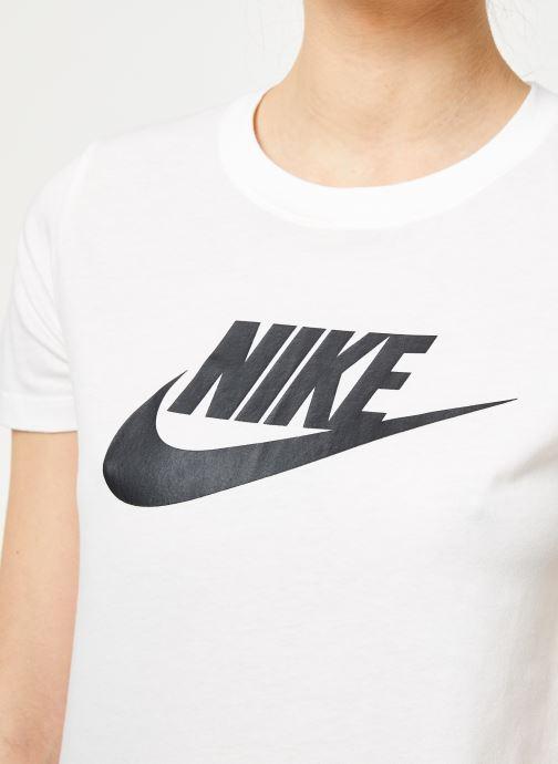 Kleding Nike W Nike Sportwear Tee Essential Icon Futura Wit voorkant