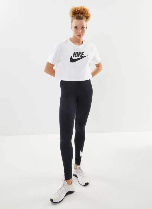 Kleding Nike W Nike Sportwear Tee Essential Crp Icn Ftra Wit onder