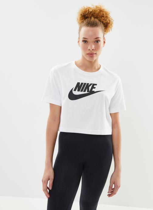 Kleding Nike W Nike Sportwear Tee Essential Crp Icn Ftra Wit detail
