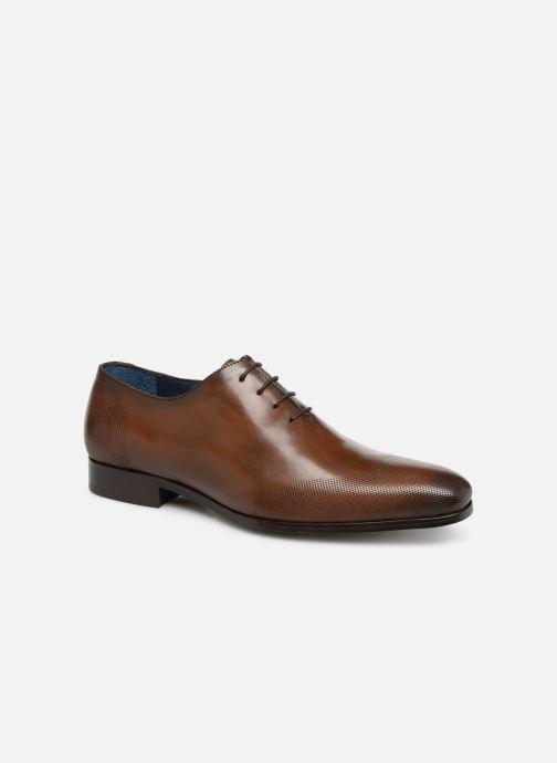 Chaussures à lacets Brett & Sons Kyle Marron vue détail/paire