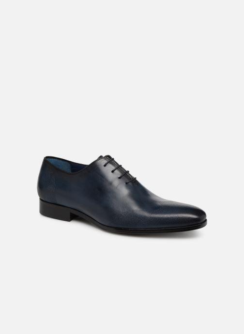 Chaussures à lacets Brett & Sons Kyle Bleu vue détail/paire