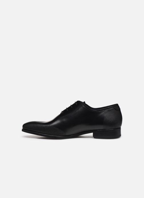 Zapatos con cordones Brett & Sons Kyle Negro vista de frente