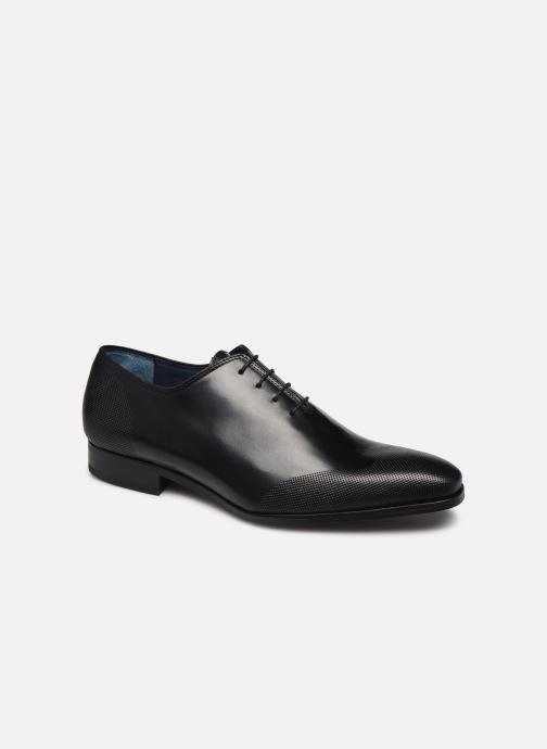 Chaussures à lacets Brett & Sons Kyle Noir vue détail/paire