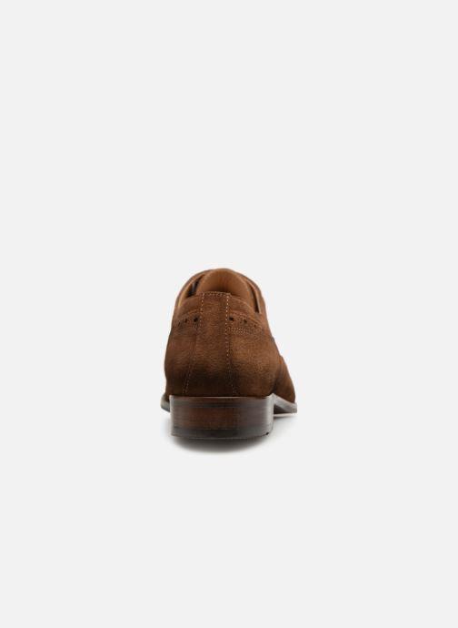 Zapatos con cordones Brett & Sons Henry Marrón vista lateral derecha