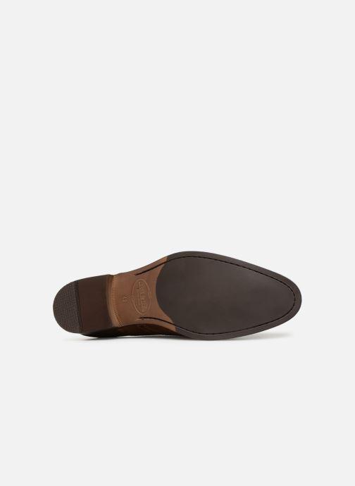Chaussures à lacets Brett & Sons Henry Marron vue haut