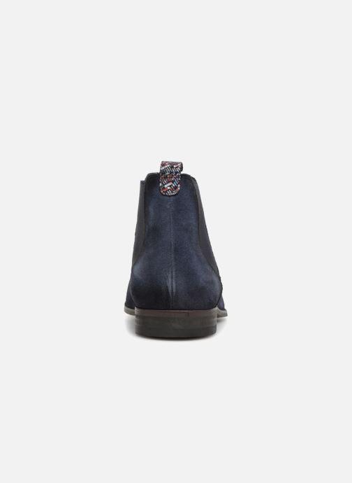 Bottines et boots Brett & Sons Aaron Bleu vue droite