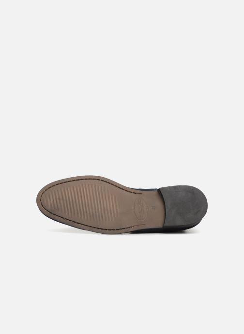 Bottines et boots Brett & Sons Aaron Bleu vue haut