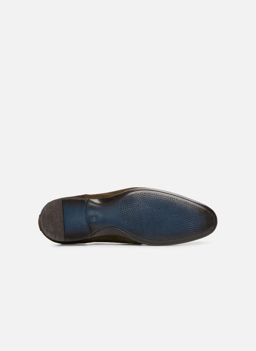 Chaussures à lacets Brett & Sons Adam Marron vue haut