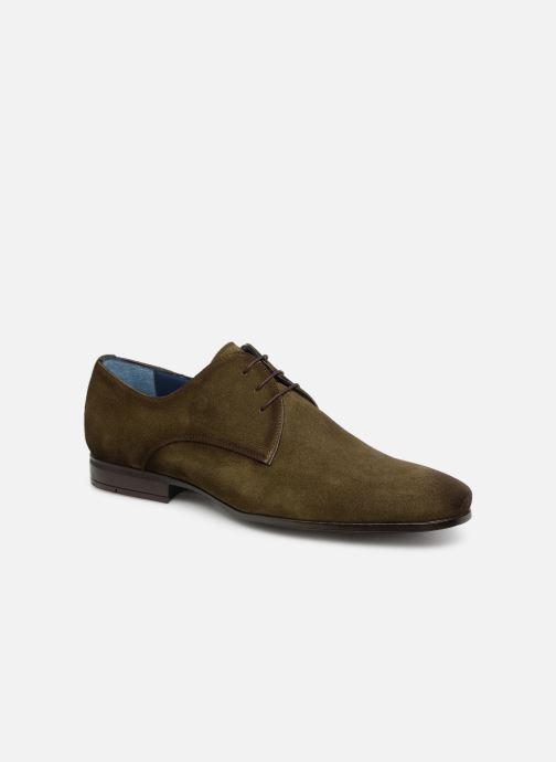 Chaussures à lacets Brett & Sons Adam Marron vue détail/paire