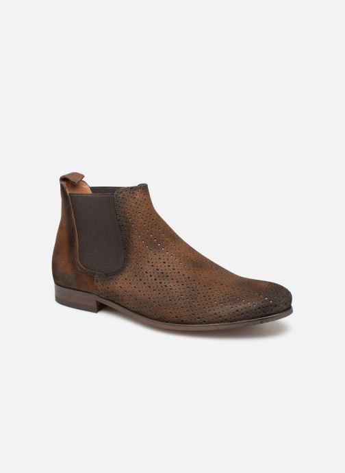 Boots en enkellaarsjes Brett & Sons Aidan Bruin detail