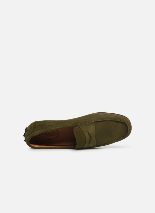 Loafers Brett & Sons Gary Green view from the left