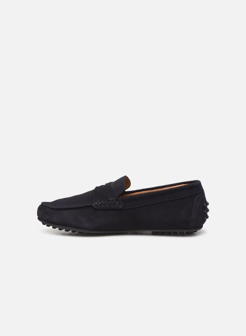 Mocasines Brett & Sons Gary Azul vista de frente