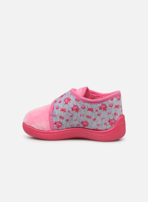 Chaussons Rondinaud Rony Rose vue face