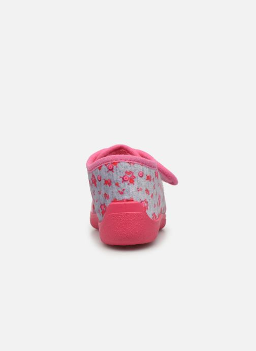 Chaussons Rondinaud Rony Rose vue droite