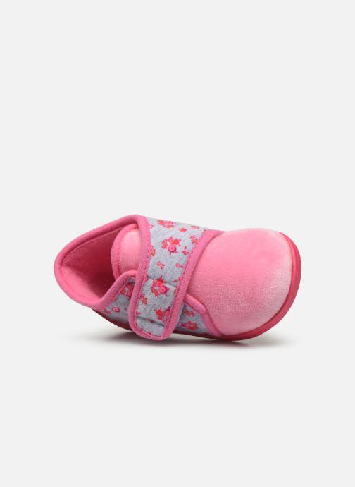 Pantofole Rondinaud Rony Rosa immagine sinistra