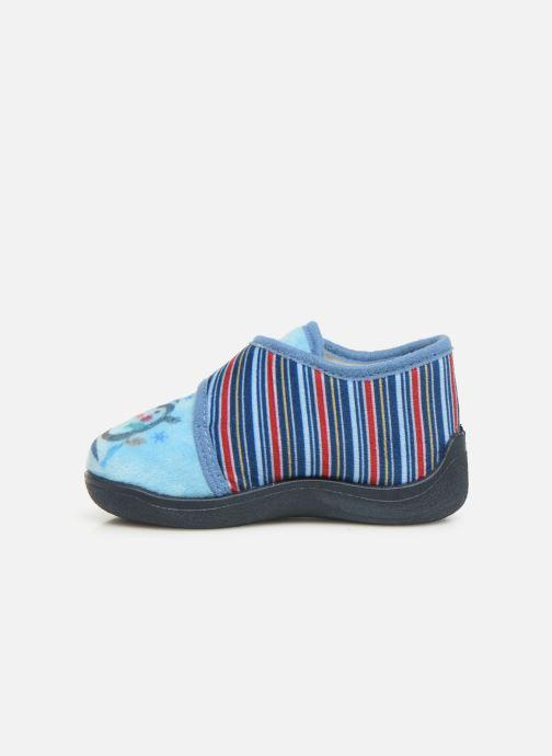 Pantofole Rondinaud Rony Azzurro immagine frontale