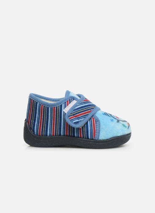 Pantofole Rondinaud Rony Azzurro immagine posteriore