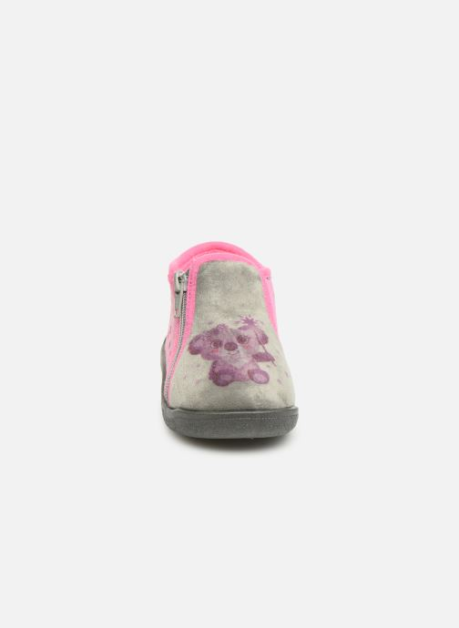 Chaussons Rondinaud Gela Rose vue portées chaussures