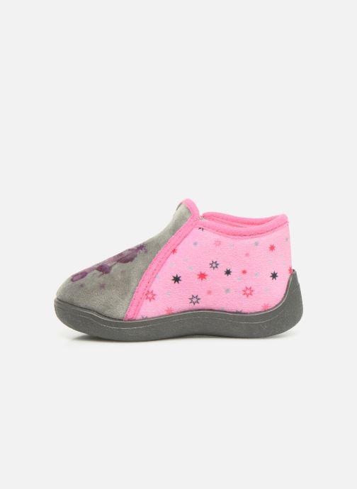Pantoffels Rondinaud Gela Roze voorkant