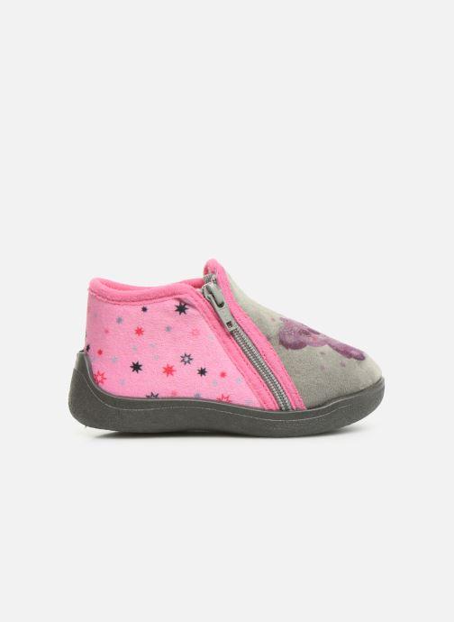 Slippers Rondinaud Gela Pink back view