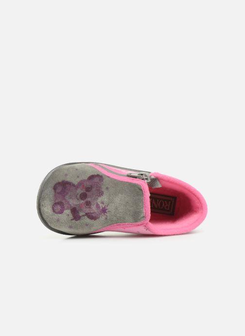 Pantoffels Rondinaud Gela Roze links