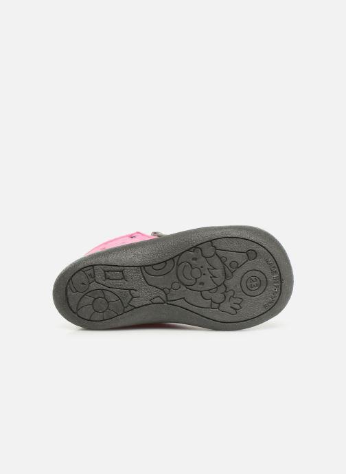 Pantoffels Rondinaud Gela Roze boven