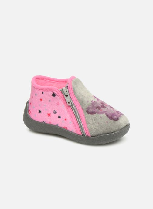 Pantoffels Rondinaud Gela Roze detail
