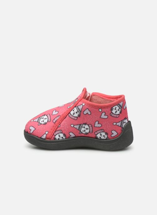 Chaussons Rondinaud Gela Rose vue face
